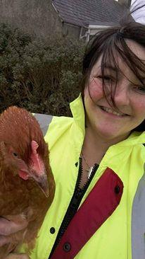 chick selfie