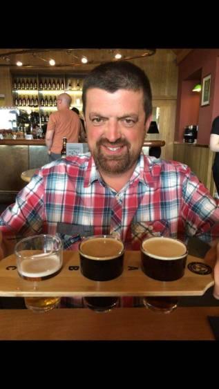 Orkney Beef sampling Orkney Beer