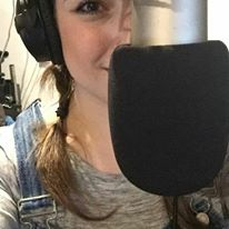 She has a great face for radio